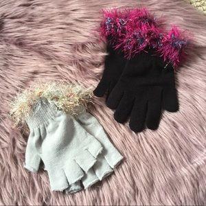 Fun gloves!! 2 pair!